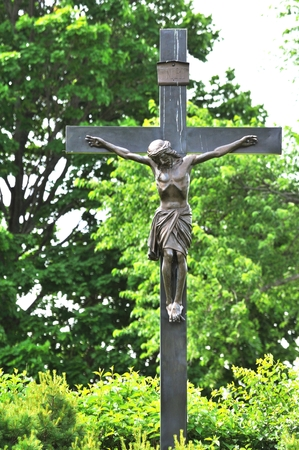 kruzifix: Kruzifix in Cemetery