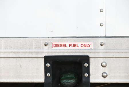 Diesel Tank on Truck 免版税图像
