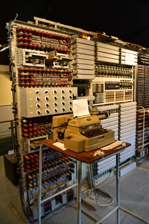 Colossus Digital computer Bletchley Park