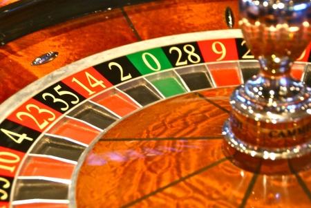 Roulette spinning wheel