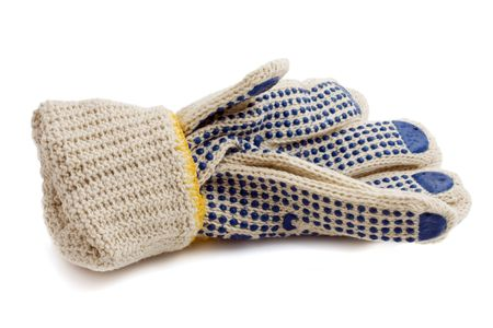 fabric protective gloves photo