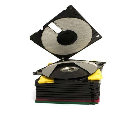 broken computer disk photo