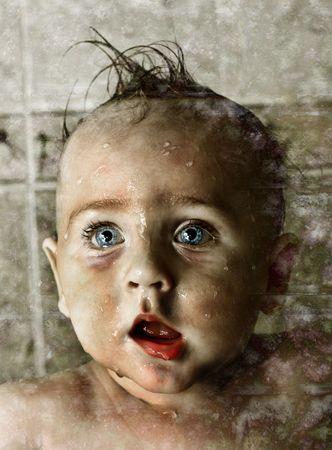 vampire baby face Stock Photo - 6183348