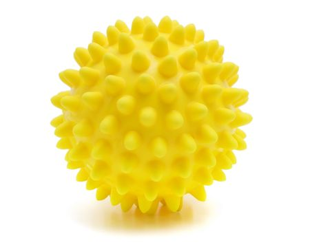 rubber ball: ball