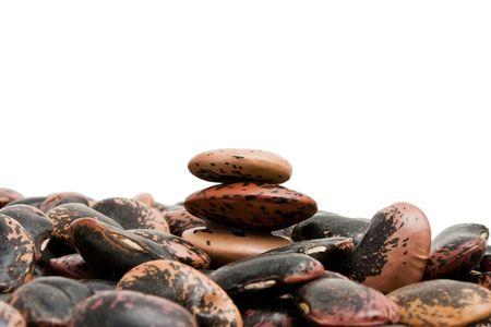 haricot: haricot beans close up