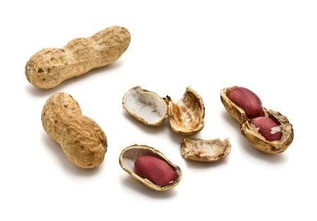 goober peas: groundnuts