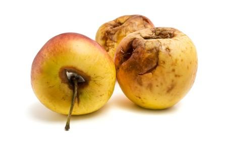 rotten apples photo