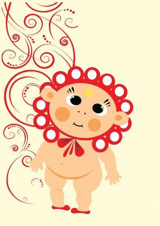fun baby Vector