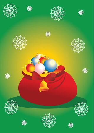 christmas bag Stock Vector - 7925230