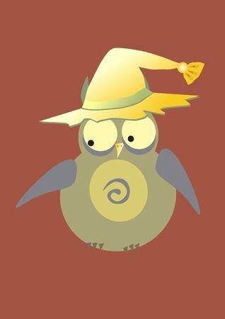cartoon owl Vector