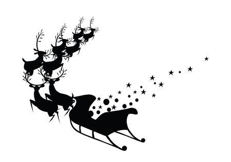 snow sled: chrestmas deer