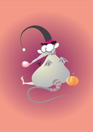bizarre mouse Vector
