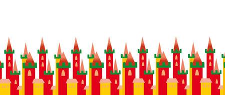 castle background Vector