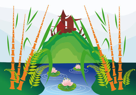 east nature Vector