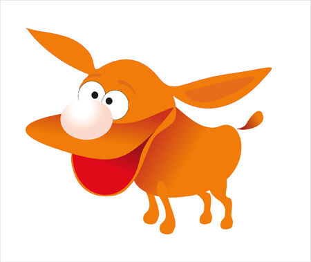 happy dog Stock Vector - 7925332