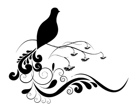 black and bird