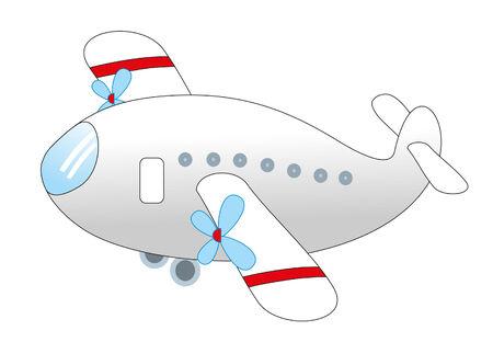 plane Stock Vector - 8298341
