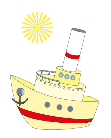 boot en zon