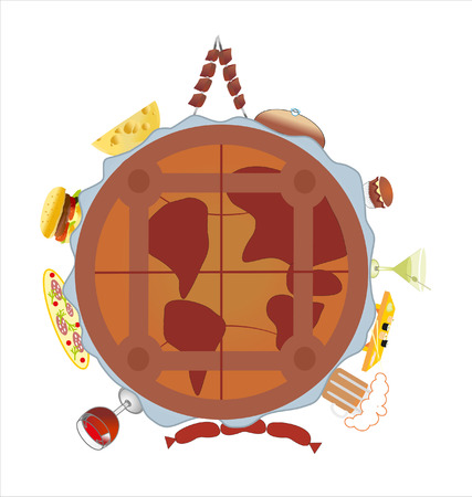 food planet Vector