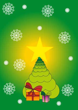 fir tree Stock Vector - 8342542
