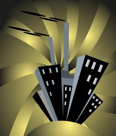 dark city: dark city background