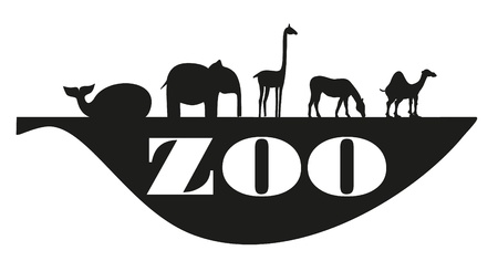 zoo on sheet Vector