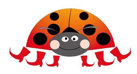 ladybug Stock Vector - 8342524