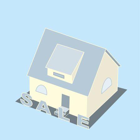 modern house interior: cottage sale