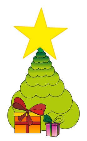 fir tree Stock Vector - 8342176