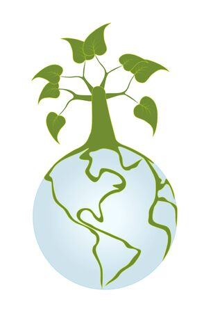Big tree on our planet Stock Vector - 8377004