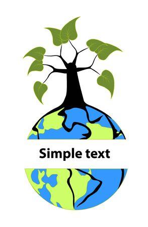 alive: Alive tree twines planet