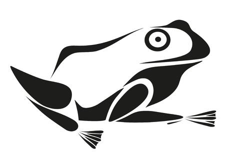 tattoo - frog Illustration