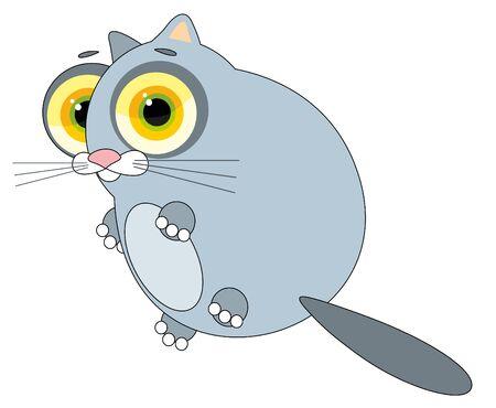 loutre: illustration de la p�pini�re - amusants otter