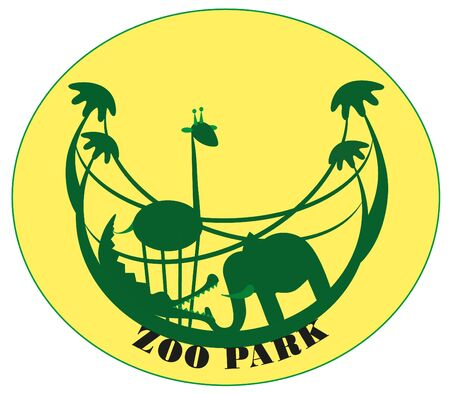 illustration. Zoo. Stock Vector - 8628981