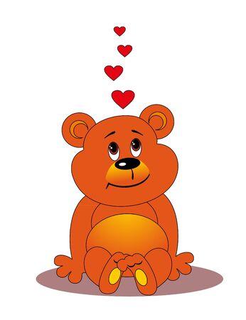 babyish: bear Illustration
