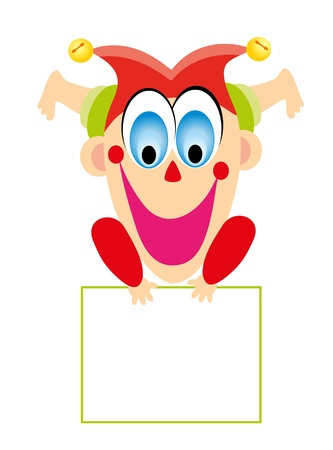children's toy - the clown Stock Vector - 13287903