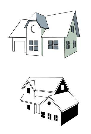 illustration: Home Stock Vector - 14068642