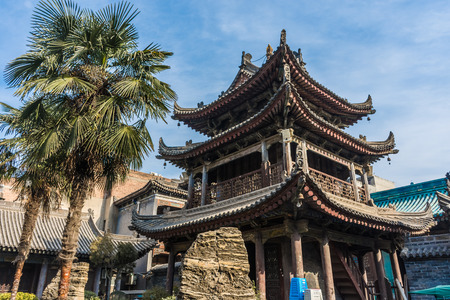 Ancient temple in Xi'An, China