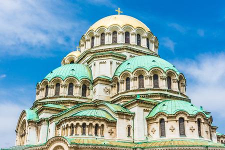 Sofia Orthodox Cathedral, Bulgaria Foto de archivo