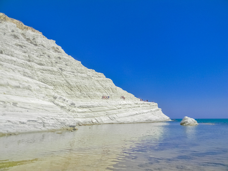 Scala dei Turchi, or Stair of the Turks, in Sicily