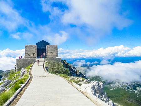 Mausoleum of Lovcen National Park, Montenegro 報道画像