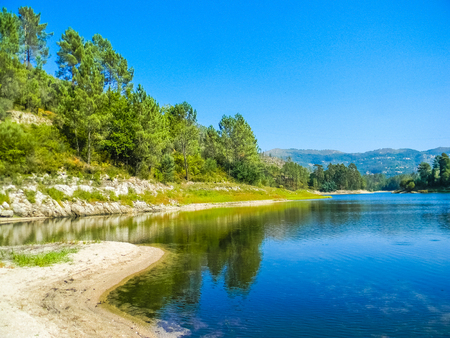 Lake in the Peneda Geres National Park, northern Portugal