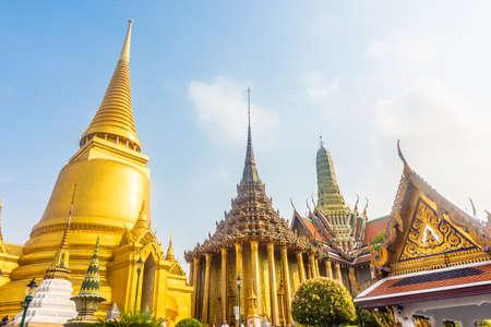 BANGKOK, THAILAND, 15 JANUARY 2020: Grand Palace of Bangkok Editorial