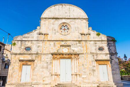 The church of Stari Grad, Hvar island, Croatia