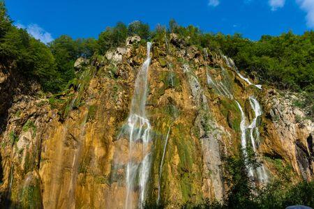 The Great Waterfall of Plitvice Lakes, Croatia