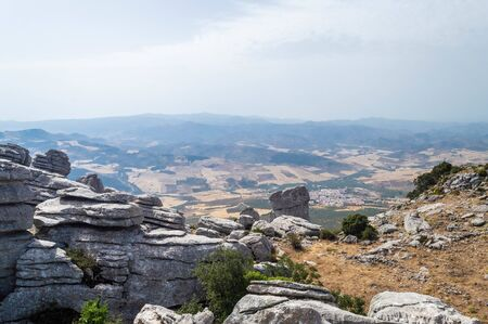 El Torcal rock formations, Andalusia, Spain