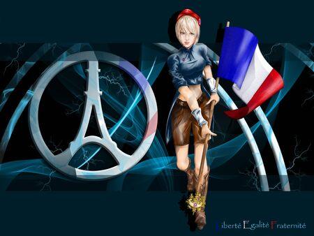 marianne: Marianne background logo Paris Stock Photo