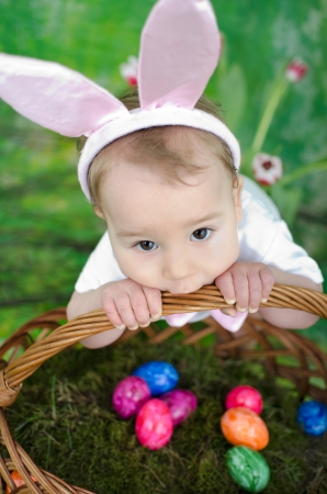 mensch: Litle Easter bunny