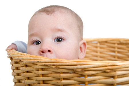 maltreatment: less lonely baby in the laundry basket