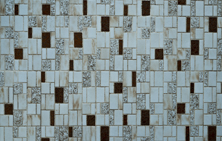 individually: Nostalgic mosaic tiles from the seventies